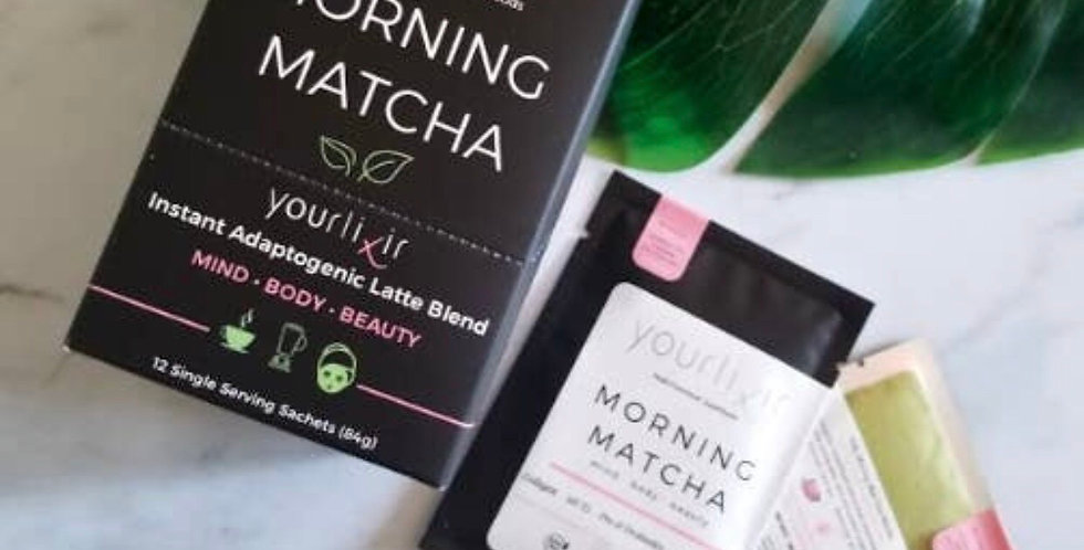 Morning Matcha single packet drinks