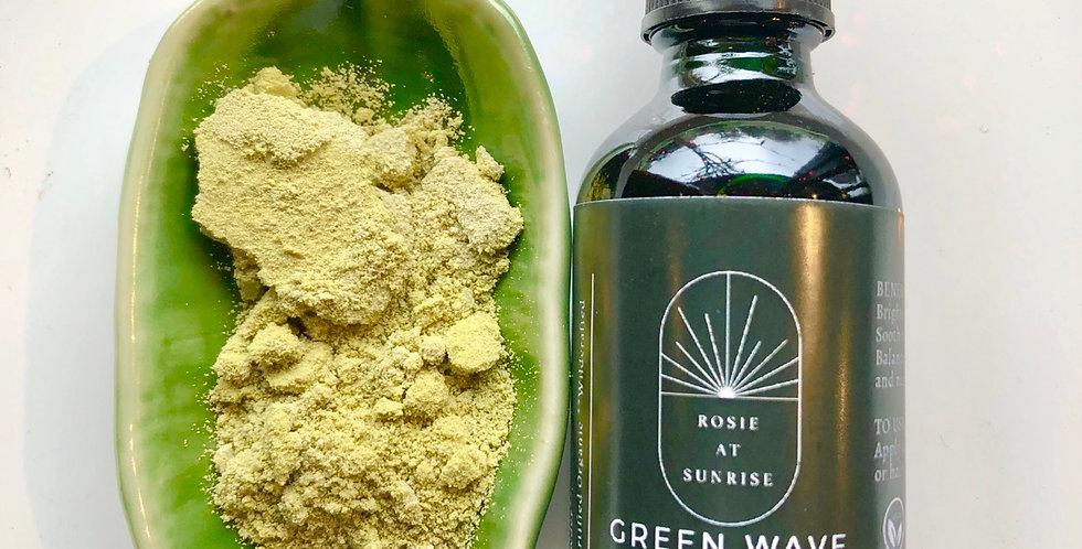 Green Wave Face Oil