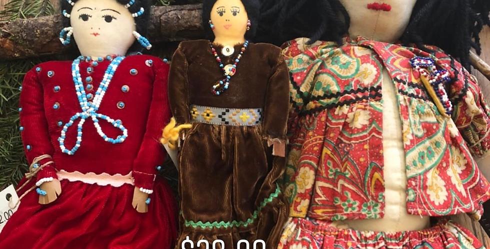 Native American Handmade Antique Dolls