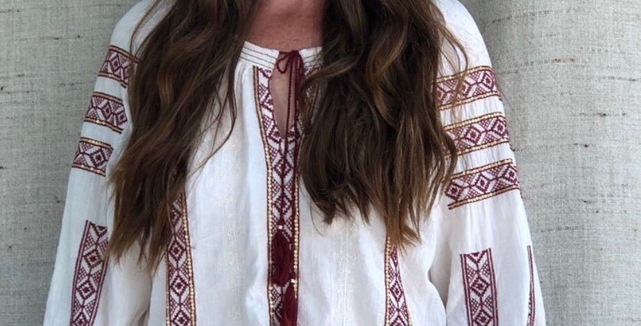 Beautiful Hungarian Inspired Embroidered Tunic