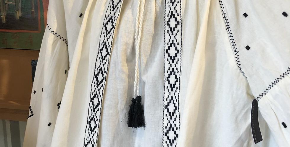 Hungarian Inspired Linen tunic