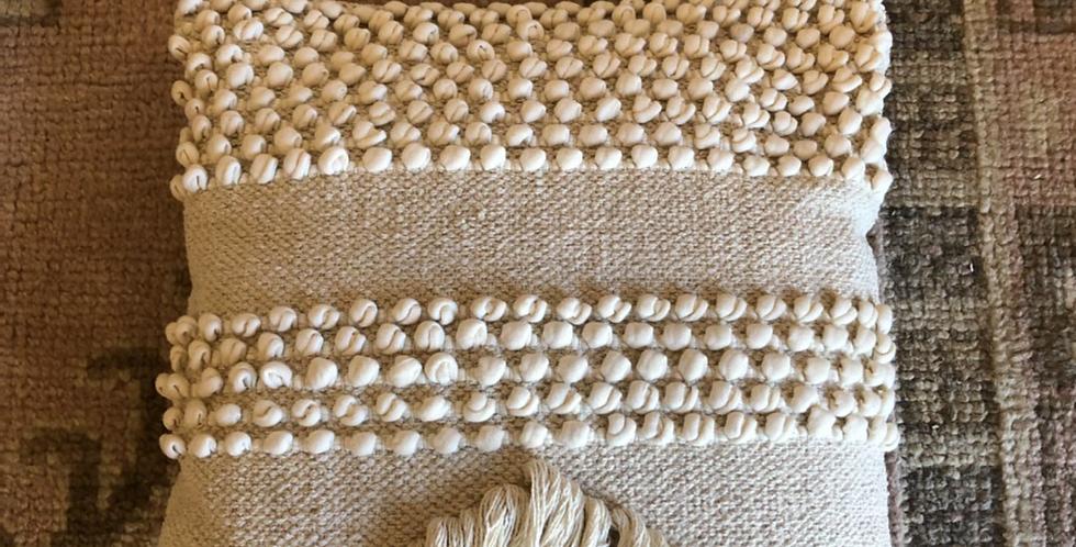 Soft Linen cotton Boho Throw pillow