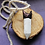 Thumbnail: Huge Excellent Quality Howlite Energy Talisman