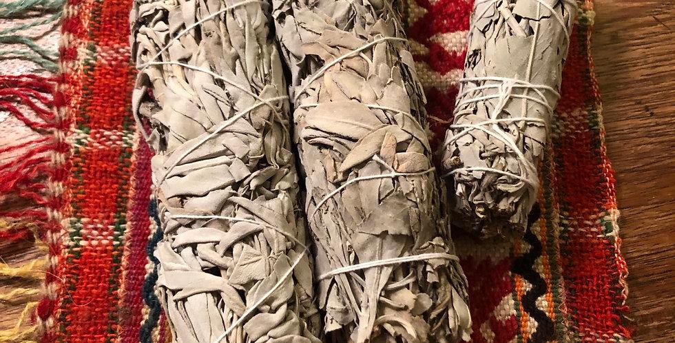 California Desert Sage Fat Smudge sticks