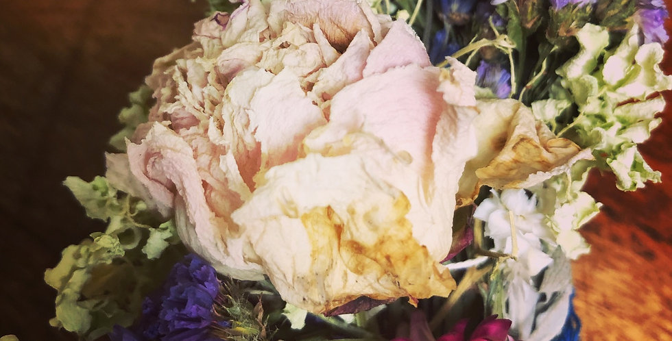 Handmade Organic dried flower Bouquets