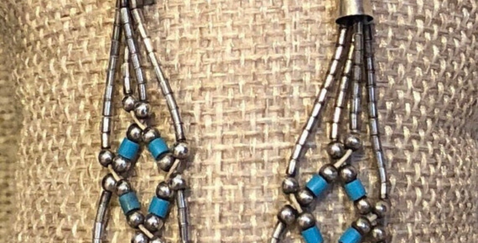Amazing Native American Beaded earrings