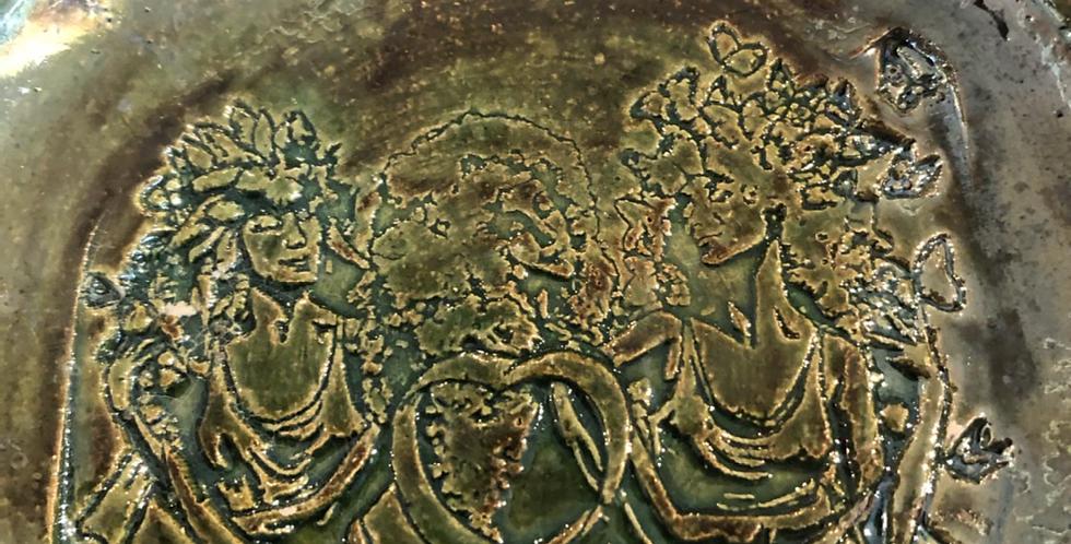 Detailed carved Sage Goddess