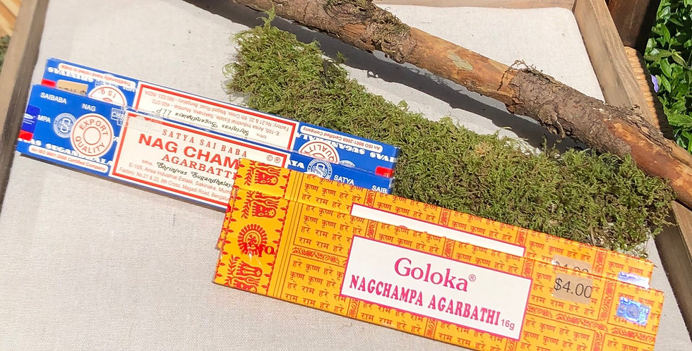 Transport to India classic Nag Champa