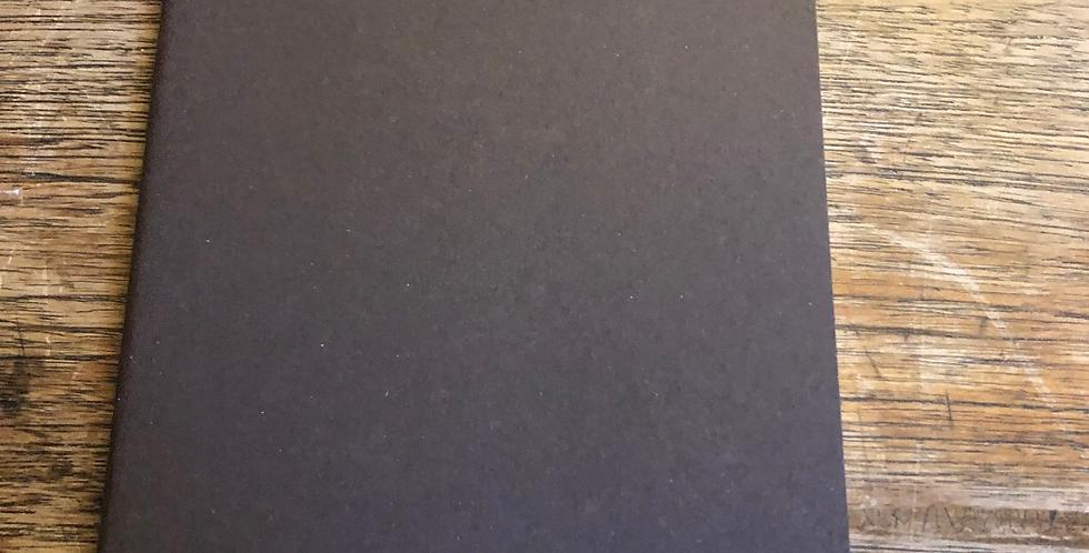 Plain Brown Moleskine Note Journals