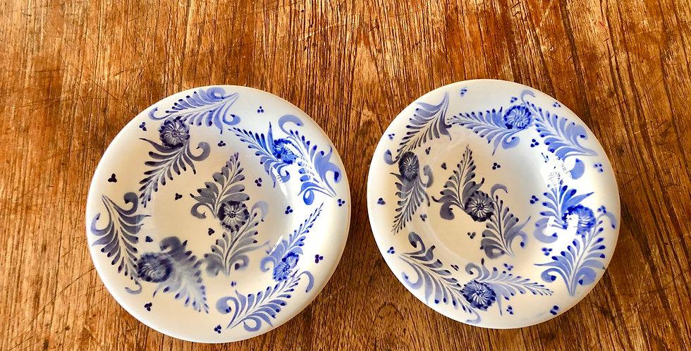 Handmade Small Glazed Mexican Bowl Set