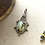 Thumbnail: Green and Brown Turquoise Pendant