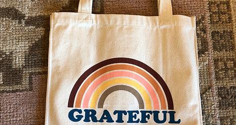 Grateful fair trade cotton Stuff bag