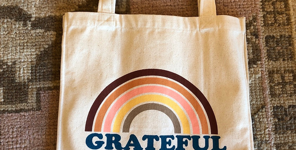 Grateful fair trade cotton Stuff bag