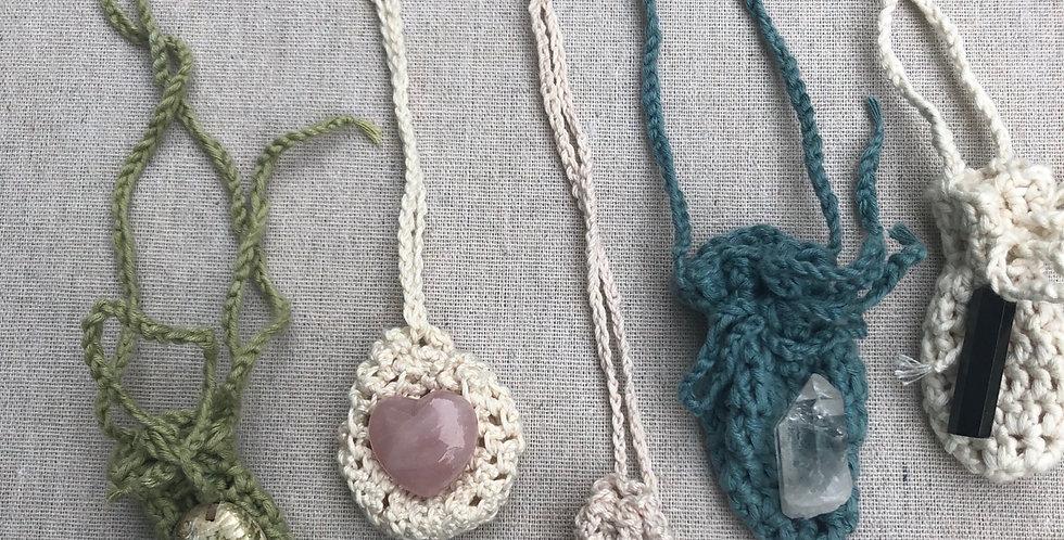 Handmade Crystal & Shell bags