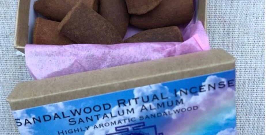Sandalwood Herbal Incense Cones