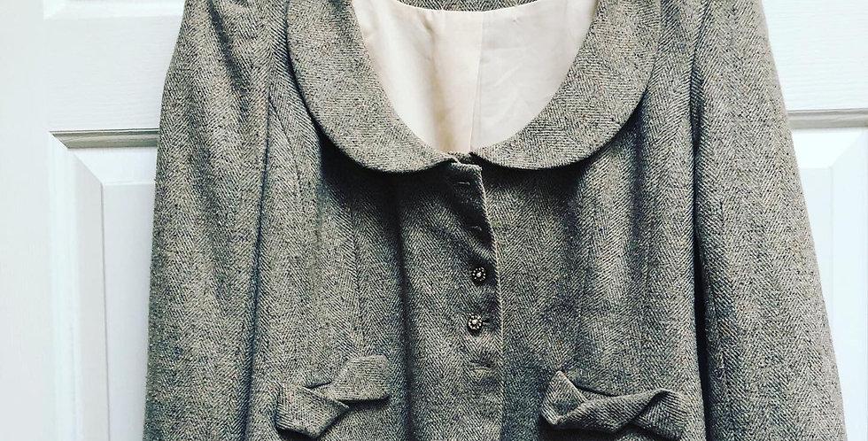 Lagenlook Wool & Lace Prairie coat