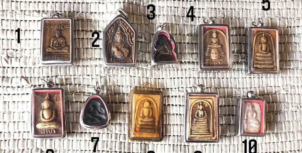 Thai Buddhist Prayer Temple pendants