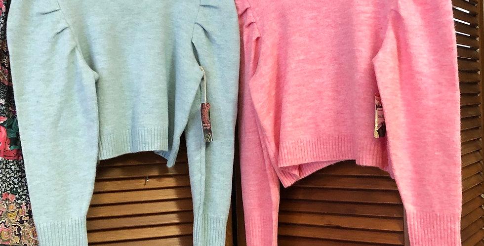 Perfect Puff Sleeve fall sweater