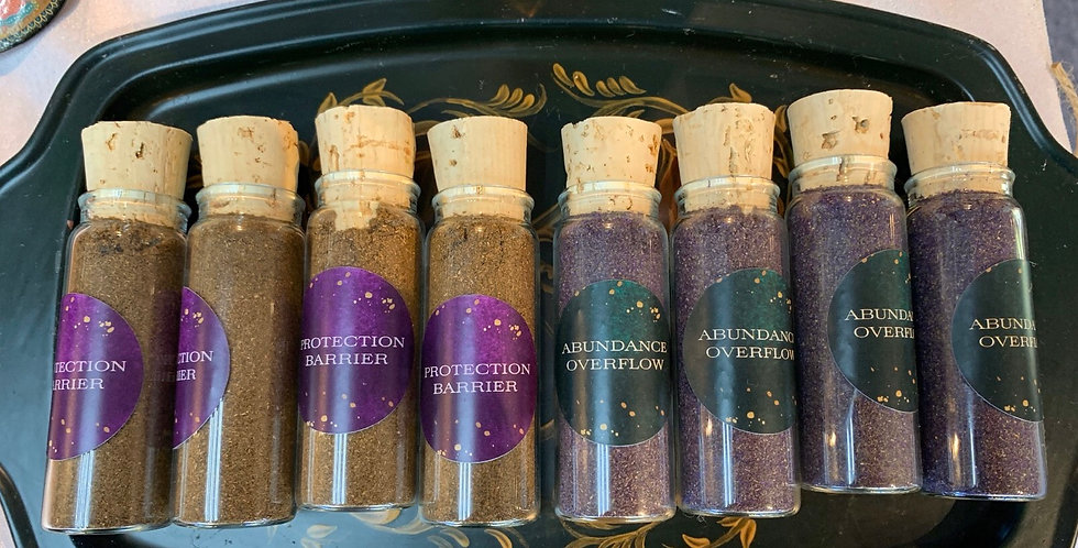 Powdered Incense for protection and Money drawing