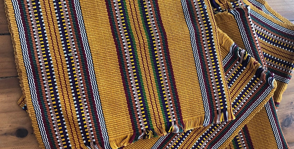 Large Square Handmade Ecuador Placemats