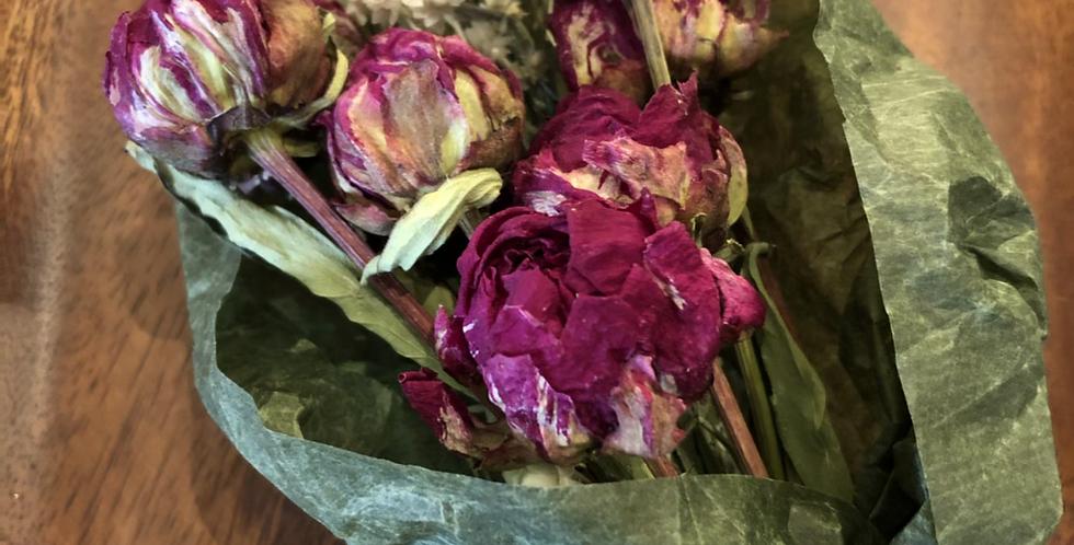 Organic Romantic Dried flower bouquet