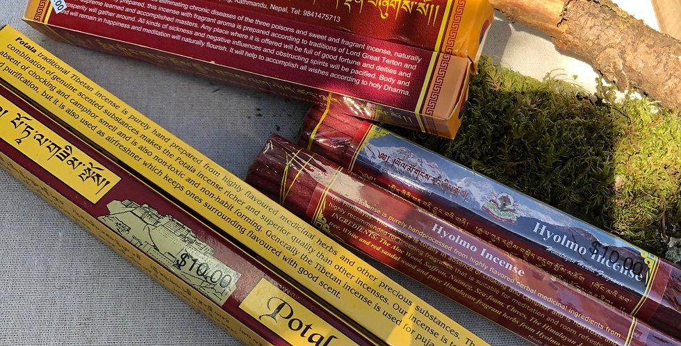 Tibetan Incense made in Monasteries