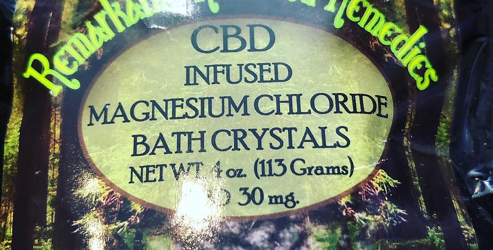Tried and Tested CBD Bath salts