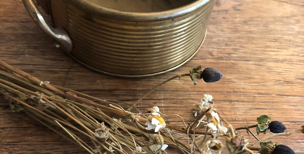 Perfect Brass bowl incense or plant