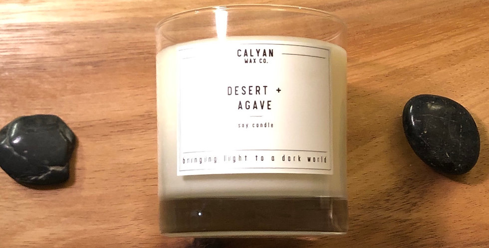 Desert & Agave Gift Candle
