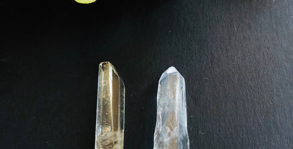 Two Crystal Points