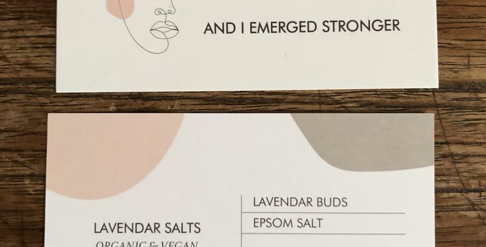 Lavendar Epsom salt