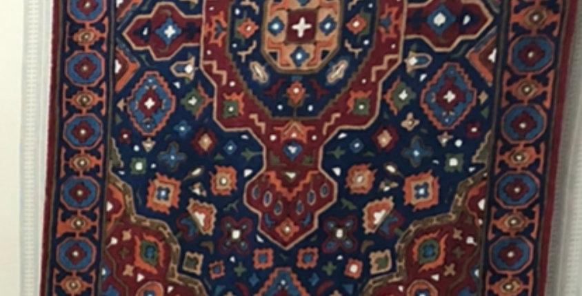ON SALE Amazing handmade Colorful Wool Rug