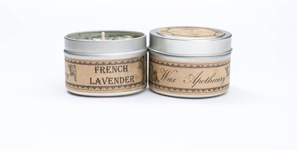 Lavendar Herbal All natural Candle