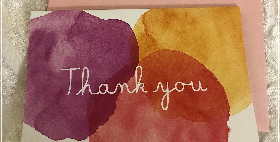 Watercolor Gratitude