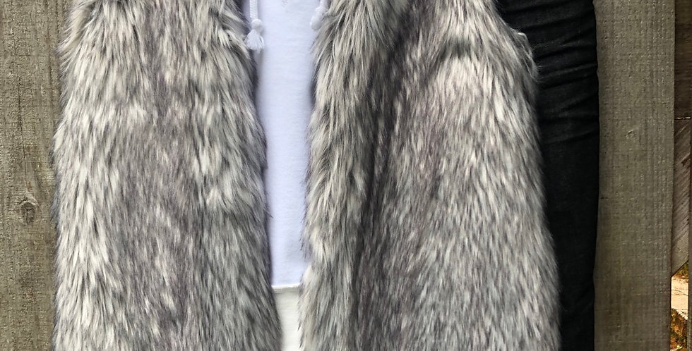 Faux Fur Stevie Nicks Vest