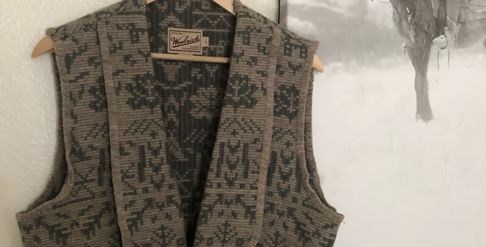 Woolrich country babe Vest