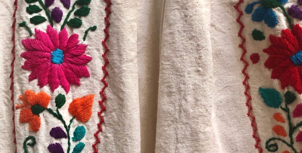 Authentic High quality Soft Michoacan Dress
