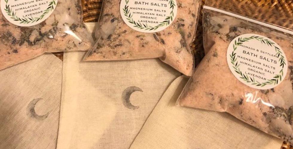 Organic Lavender and Epsom Salts