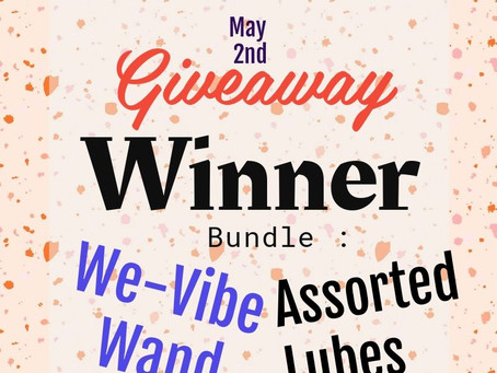 Winner of the May Free Giveaway