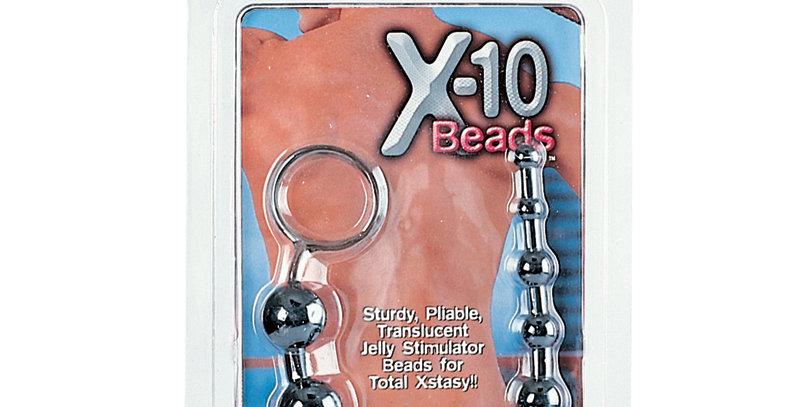 Calexotics X-10 Beads Black