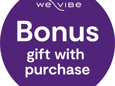 WE-VIBE GIFT WITH PURCHASE