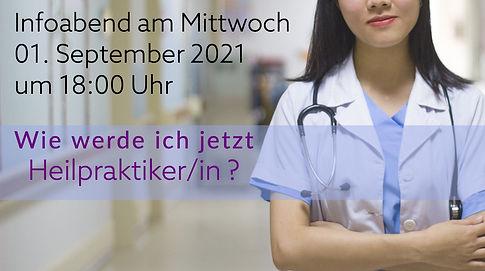 Infoveranstaltung Heilpraktikerschule Humanum