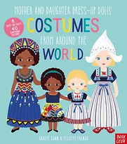 Mother-and-Daughter-Dress-Up-Dolls-Costu