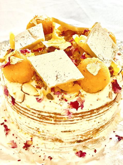 Motichoor Mithai Cake