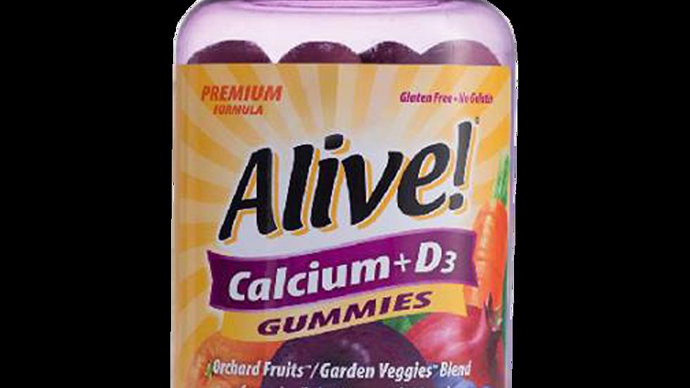 ALIVE -Calcium + D3 Gummy