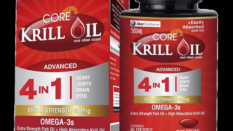 Core Krill Oil 500 mg.