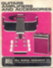 Bell Musical Instruments catalogue