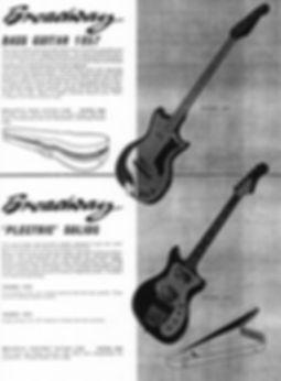 Broadway 1857 Bass guitar
