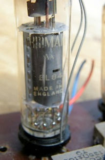 Broadway amplifier valves
