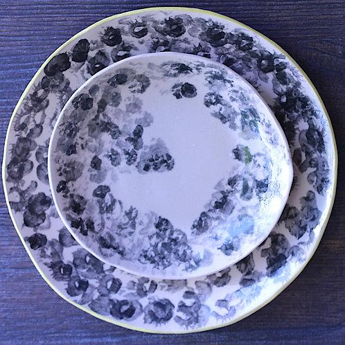Assiette en grès Pissenlit Souffle